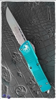 Microtech Combat Troodon D/A OTF S/E 143-11 TQ Stonewash Serrated TQ Handle