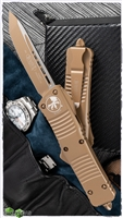 Microtech Combat Troodon T/E Dark Earth Cerakote