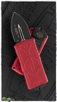 Microtech Exocet 157-1RD Black Blade Red Handle