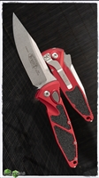 Microtech SOCOM Elite Auto S/E 160A-10RD Stonewash Blade Red Handle