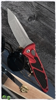 Microtech SOCOM Elite Auto T/E 161A-10APRD Apocalyptic Blade Red Handle