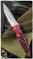 Microtech SOCOM Elite Auto T/E 161A-10RD Stonewash Blade Red Handle