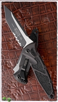 Microtech SOCOM Elite Auto T/E 161A-2T Serrated Black Blade Tactical