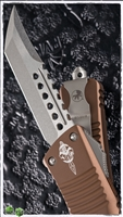 Microtech Combat Hell Hound Signature Series Bronzed Tan