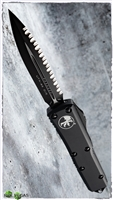 Microtech UTX-85 D/E 232-3T Black Fully Serrated Blade Tactical