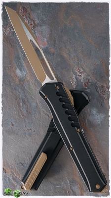 Microtech Cypher MK7 LTD 241M-1TNB Tan & Black