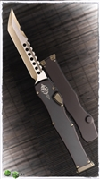 Signature Series Microtech HALO 6 Hellhound Bronzed W/ Kydex