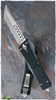 Microtech Troodon Hellhound 619-13 Signature Series Bronzed