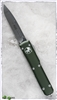 Microtech Ultratech D/A OTF S/E 121-4OD Satin Blade OD Green Handle