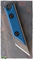 NCC Knives Micro Kiridashi Neck Knife Blue G-10