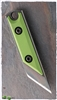 NCC Knives Micro Kiridashi Neck Knife Toxic Green G-10