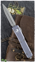 Microtech Ultratech D/A OTF D/E 122-10APGY AP Blade Gray Handle