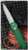Piranha Bodyguard Green Handle Stonewash Plain