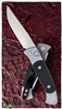 Protech Brend #2 Small Size 1201 Gray Handle G10 Inlay Satin Blade