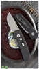 Protech CalMigo CA Legal w/ Safety 2201  Black Handle Stonewash Blade