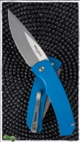 Protech Magic 2 Hidden Scale Release Auto SW Blade Blue Handle