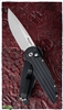 Protech TR-3LTD Tactical Response Auto Pearl Inlay Button Satin Blade