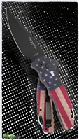 Protech TR-4.41 Tactical Response 4 Vintage Flag Limited Edition Blade DLC