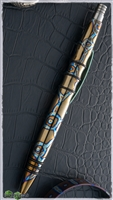 Creature Flame-Ano Titanium Custom Tuff Writer Pen