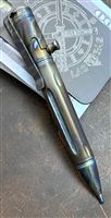 PVK Custom Mini Bolt Action, Titanium, Flame Anodized Pen