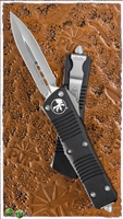Microtech Troodon D/A 138-4 Satin Finish Double Edge