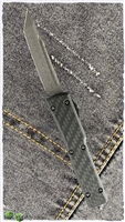 Microtech UTX-70 T/E Damascus Blade LTD Ringed HW Carbon Fiber Top 149-16CF