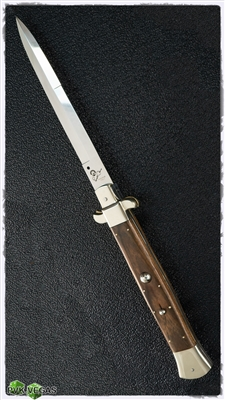 "Renzo Pascotto Flatguard Stiletto 24"" Iron Wood"