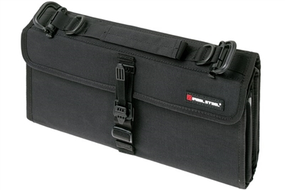 Real Steel Pilgrim 22 Knife Storage Bag, Black Nylon