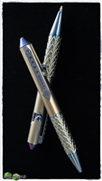 Ryworx Titanium Custom Pen Blue + Bronze
