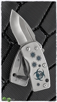 "G. Sakai UKIMON - Custom Engraved ""Biohazard"" Money Clip Knife, VG-10"
