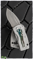 "G. Sakai UKIMON - Custom Engraved ""Pin Up"" Money Clip Knife, VG-10"