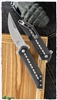 Todd Begg Steelcraft Mini Kwaiken Black Handle Carbon Fiber Inlays