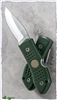 Vintage Italian Grenade Auto Green AKA German Secret Police Knife