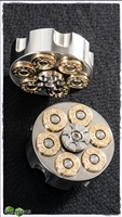 Custom 357 Magnum Brass & Steel Spinner