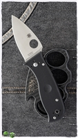 "Spyderco Lil' Temperance 3 Compression Lock, Black G10, 2.9"" Satin CPM-S30V"