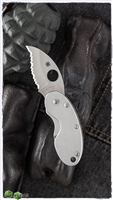 Spyderco Stainless Steel Cricket Folding Knife