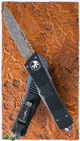 Microtech Troodon  S/E Damascus Blade Signature Series