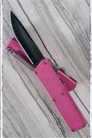 Taiwan Lightning Pink Solid Black Single Edge