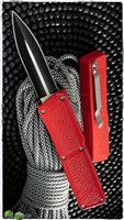 Taiwan Lightning Red Handle Two Tone Double Edge