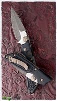 Marfione Custom Strider MSG 2 D/A Automatic Knife Fallout Finish Bronzed HW