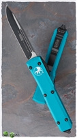 Microtech Ultratech D/A OTF S/E 121-1TQ Black Blade Turquoise Handle Tactical Hardware