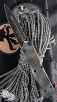 Microtech Combat Troodon D/E 142-1 Black Blade Cerakote Handle