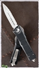 Microtech Combat Troodon 142-6 Satin Finish Full Serrated Double Edge