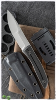 WE Knife Co. Reazio Fixed Blade Twill Carbon Fiber Stonewash 921A
