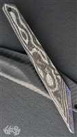 Warren Thomas Custom Medium Kiridashi Silver Carbon Fiber