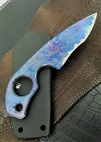 Warren Thomas Strider Knives SLCC Custom Carbon Fiber #