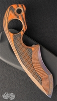 Warren Thomas Strider Knives SLCC Custom Orange Carbon Fiber #1