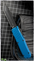 Guardian Tactical RECON-035 T/E OTF Black Blade & Blue Handle
