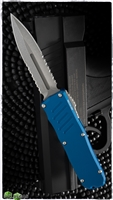 Guardian Tactical RECON-035 Stonewash D/E Serrated Blue and Black Hardware