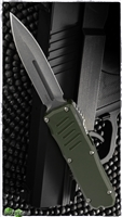 Guardian Tactical RECON-035 D/E OTF Stonewash Blade & OD Green Handle 98531